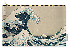 Waves Carry-All Pouches