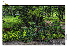 The Green Bicycle Carry-all Pouch
