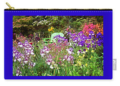 Carry-all Pouch featuring the photograph Hiding In The Garden by Thom Zehrfeld