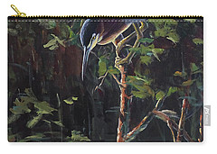 The Green Heron Carry-all Pouch