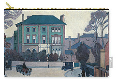 The Green House, St John's Wood Carry-all Pouch by Robert Bevan