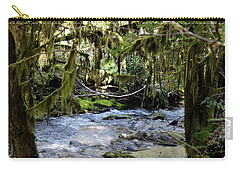 The Green Seen Carry-all Pouch by Marie Neder