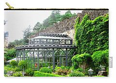 The Greenhouse At Glenveagh Castle Carry-all Pouch by Stephanie Moore