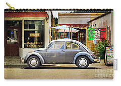 Carry-all Pouch featuring the photograph The Grey Beetle by Craig J Satterlee