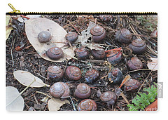 Carry-all Pouch featuring the photograph The Group by Marie Neder