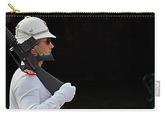 Carry-all Pouch featuring the photograph The Guard by Keith Armstrong