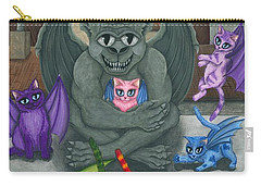 The Guardian Gargoyle Aka The Kitten Sitter Carry-all Pouch