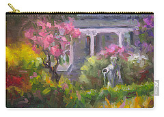 The Guardian - Plein Air Lilac Garden Carry-all Pouch