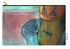 The Guitarist Carry-all Pouch