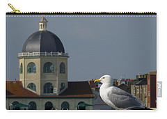 The Gull And The Dome Carry-all Pouch by John Topman