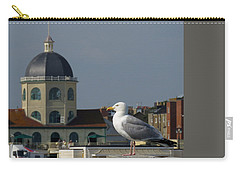 The Gull And The Dome 2 Carry-all Pouch by John Topman