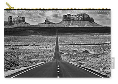 Carry-all Pouch featuring the photograph The Gump Stops Here by Darren White