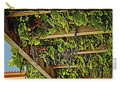 The Hanging Grapes Carry-all Pouch