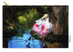 The Happy Spoonbill Carry-all Pouch