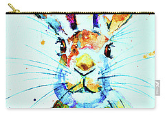Carry-all Pouch featuring the painting The Hare by Steven Ponsford