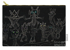 The Haunted Farmhouse Carry-all Pouch