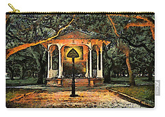 The Haunted Gazebo Carry-all Pouch by RC deWinter