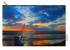 The Hawaiian Sailboat Carry-all Pouch by Michael Rucker