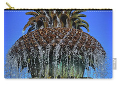 The Head Of The Pineapple Carry-all Pouch by Skip Willits