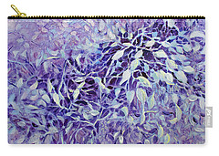 Carry-all Pouch featuring the painting The Healing Power Of Amethyst by Joanne Smoley