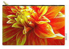 The Heart Of A Dahlia #2 Carry-all Pouch