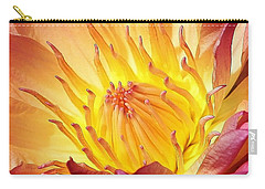 The Heart Of A Water Lily Carry-all Pouch