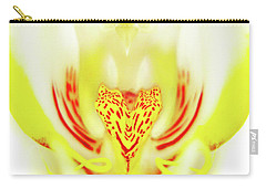 The Heart Of An Alien-orchid Carry-all Pouch