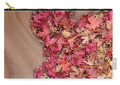 Carry-all Pouch featuring the photograph The Heart Of Autumn by Dustin LeFevre