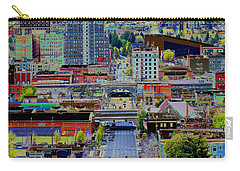 The Heart Of Downtown Spokane  Carry-all Pouch