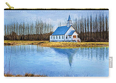 The Heart Of It All - Landscape Art Carry-all Pouch by Jordan Blackstone