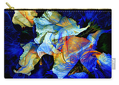 Carry-all Pouch featuring the painting The Heart Of My Garden by Hanne Lore Koehler