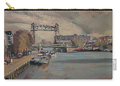 Carry-all Pouch featuring the painting The Hef Rotterdam by Nop Briex