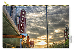 The Heights At Morning Light Carry-all Pouch