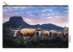 Texas Longhorns Blue Carry-all Pouch