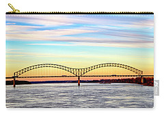 The Hernando De Soto Bridge Carry-all Pouch
