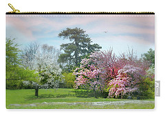 Carry-all Pouch featuring the photograph The Hidden Garden by Diana Angstadt