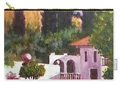 Carry-all Pouch featuring the painting The Hidden Villa by Jim Phillips
