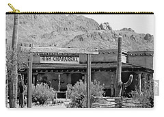 The High Chaparral Set With Sign Old Tucson Arizona 1969-2016 Carry-all Pouch