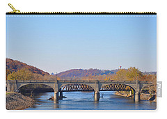 The Hill To Hill Bridge - Bethlehem Pa Carry-all Pouch