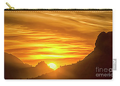The Hills Of Arizona At Sunset Carry-all Pouch