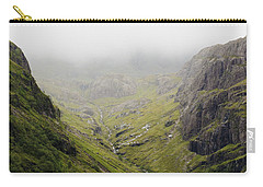 Carry-all Pouch featuring the photograph The Hills Of Glencoe by Christi Kraft