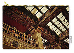 The Historic Davenport Hotel Balcony Carry-all Pouch