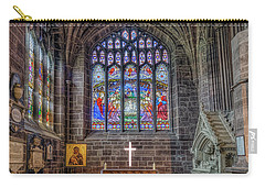 Carry-all Pouch featuring the photograph The Holy Cross by Ian Mitchell