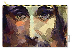 The Holy Face Of Jesus  Carry-all Pouch