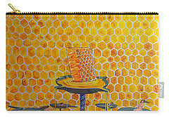 The Honey Of Lives Carry-all Pouch by Lazaro Hurtado