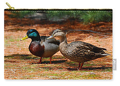 The Honeymooners - Mallard Ducks  Carry-all Pouch