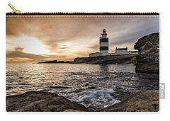 The Hook At Sunset Carry-all Pouch by Martina Fagan