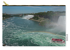 The Hornblower, Niagara Falls Carry-all Pouch by Brenda Jacobs