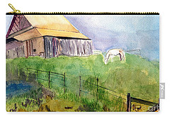 The Horse Barn Carry-all Pouch