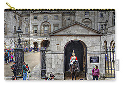 The Horse Guard At Whitehall Carry-all Pouch